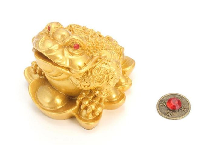 Money LUCK Wealth for Home Office Decoration Table Decor Ornaments Feng Shui Luck