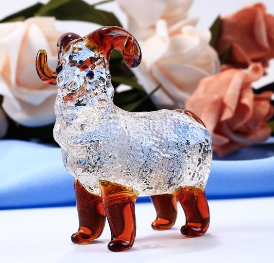 Glass Paperweight For Birthday Gifts Miniature Household Ornaments Home Decorating Accessories