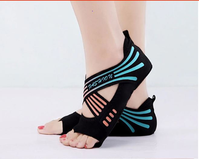 Training Shoes Women Yoga Pilates Yoga Socks Flat Gym Ballet Shoes Kids Trainers Dance Girl