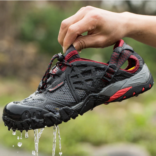 Men Outdoor Sneakers Breathable Hiking Shoes