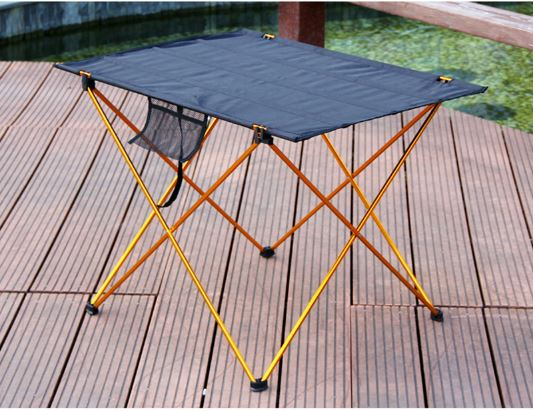 Tables Folding Camping Table Outdoor Portable 6061 Alloy Lightweight Aluminum Folding Table