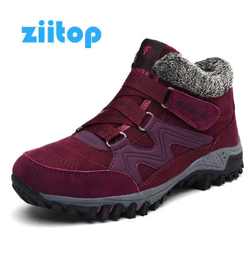 Women Snow Boots Winter Running Shoes Men Women Warm Plush Krasovki Ankle Boots