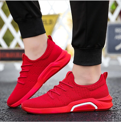 Men running shoes Lightweight sports shoes