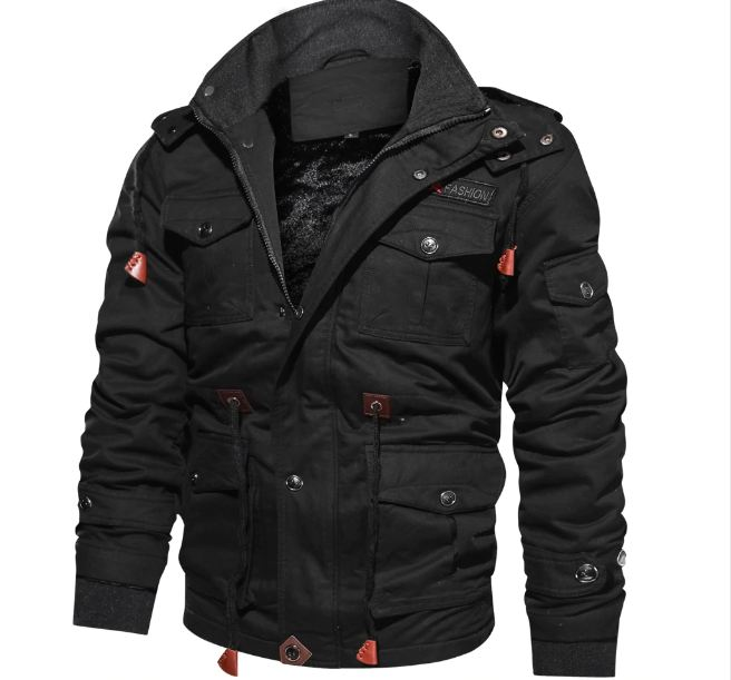 Brand Thick Winter Fleece Jackets Men Military Tactical Army Jacket Mens