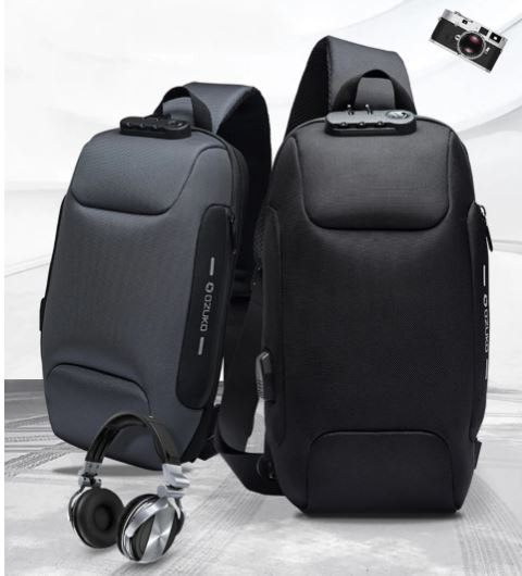 Bag for Men Anti-Theft Bags Male Shoulder Messenger Bag Travel Bag