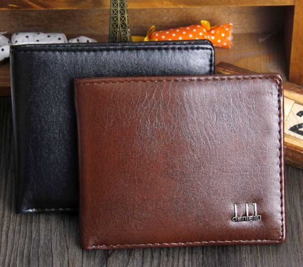 Men's Business Style Wallet With ID Card Holder Credit Card Handbags