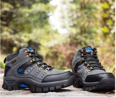 Men's Hiking Shoes Anti-Skid Mountain Climbing Boots Outdoor Sports Shoes