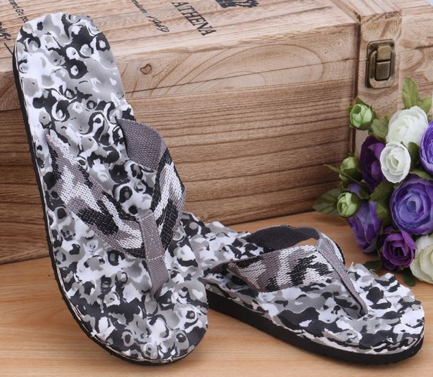Slippers Shoes Sandals Slippers Indoor & Outdoor Men's Casual Non-Slip Beach Shoes
