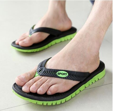 Men Summer Slippers PVC Slippers EVA Men's Casual Summer Fashion Shoes