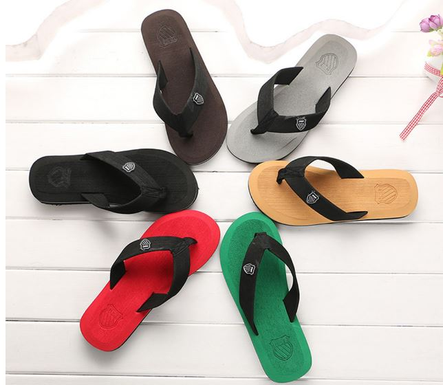 Men's Shoes 1 Pcs Summer Slippers Beach Slippers Indoor & Outdoor Sandals Casual Shoes