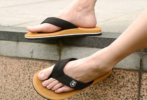Summer Flip Flops Beach Sandals Slippers for Men High Top Flats Non-slip Men's Plus Size Shoes