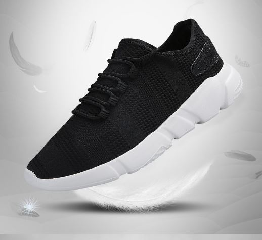 Casual Shoes Sneakers Fashion Breathable Lace-Up Shoes Two Men Trainers Shoes Men's Sneakers