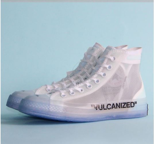 Converse OFF WHITE lucency all star shoes men's and women's sneakers unisex Vintage Skate Shoes