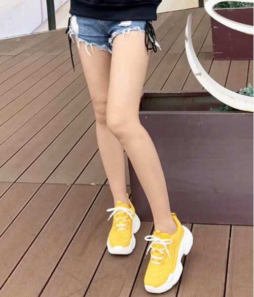 Women's Casual Shoes Autumn Air mesh Tennis Fashion Casual Platform Shoes