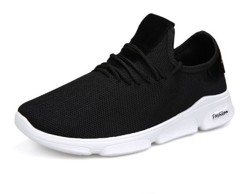 Men's casual shoes fashion men's canvas shoes men's sports shoes with wearable
