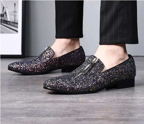 Formal Shoes Soft Colorful Wedding Party Oxford Business Men's Shoes