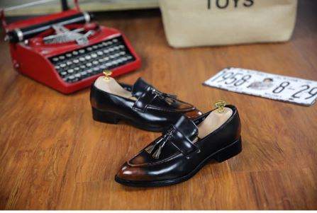 Men Dress Shoes Oxford Shoes Wedding Shoes Luxury Leather Shoes Floral Print Men Flats Office Party Formal Shoes