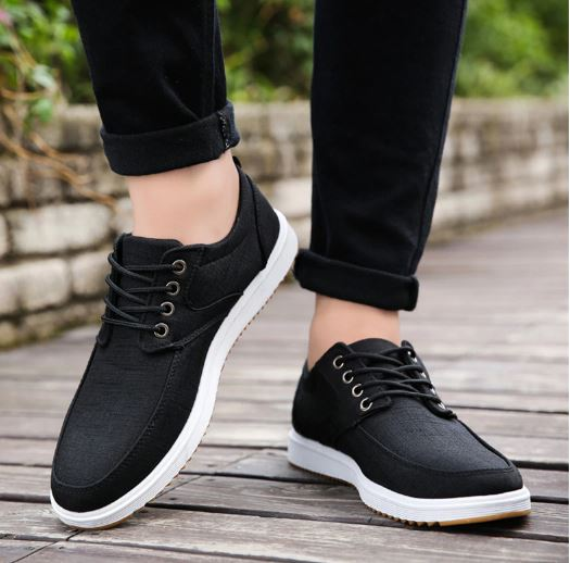 Shoes Men's Casual Shoes Breathable Casual Canvas Shoes Casual Shoes Men's Shoes
