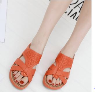 Summer Women's Rome Casual Shoes Sandals Beach Breathable Beach Shoes Scarpe Donna Tacco