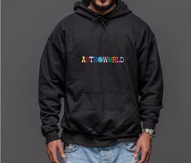 Men's Hoodies Embroidery Print Gains WISH YOU WERE HERE