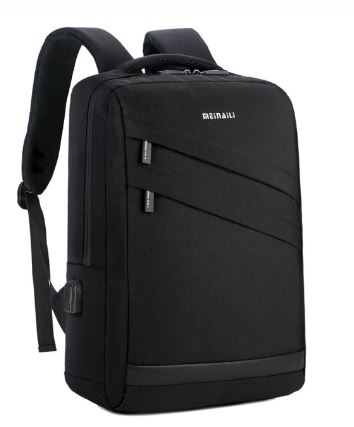 Men Travel Bag Backpacks Multifunction Backpack Black