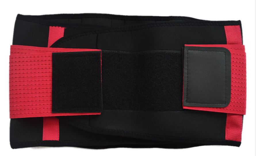 Back Strap Breathable Back Collar Brace Belt Men