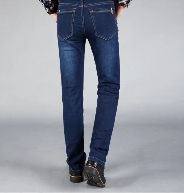 Jeans Fashion Casual Men's Slim Fit Straight High-stretch Stretch skinny jean