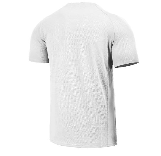 Sportswear Tee Quick Dry Short Sleeve Outdoor Breathable Mesh Running Bodybuilding Shirt Man