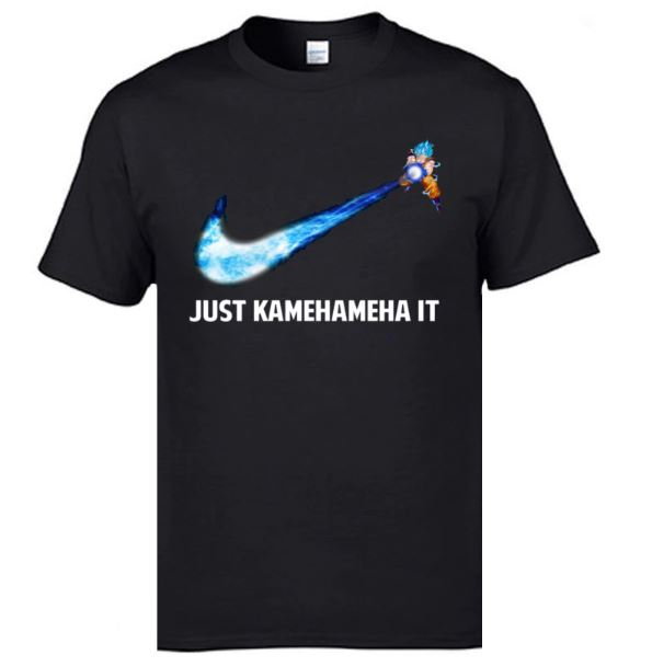Vegeta Saiyan Goku Tee Shirt Japanese Anime Kamehameha Is Supernatural T-shirts Harajuku Bragonball Tshirts Men
