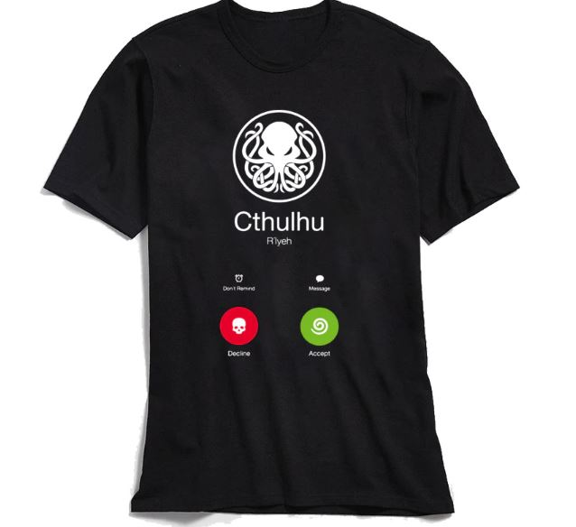T-shirt Designer T Shirt For Men  Cotton Funny Tshirt Novelty Nerd Summer Tops Swag Steampunk Octopus tees