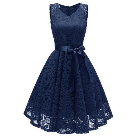 Dress Track summer dress dress belt Bow Cami Dresses Elegant Party Dresses