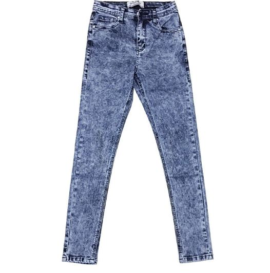 Women Jeans Black Vintage High Waist Jeans Women Spring Denim Pants
