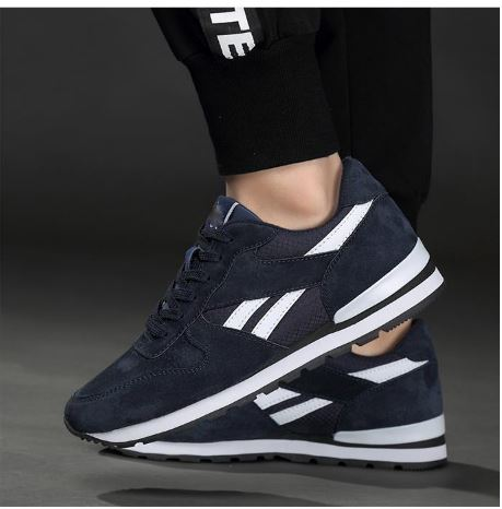 Men's Genuine leather sneakers casual shoes Breathable non-slip outdoor walking shoes