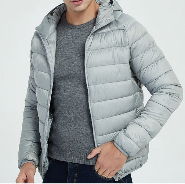 Winter Style Light Weight Coat Outerwear Warm Cotton Jackets Hooded men Jacket Coat
