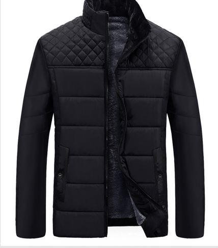 Men's Jackets & Coats Patchwork Plaid Designer Woolen Jackets Men Outerwear Winter Clothing Male Fashion