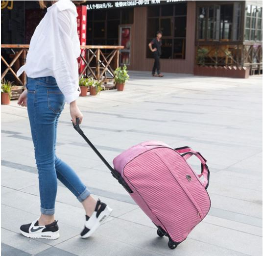 Travel Bag Luggage Rolling Thick Style Travel Suitcase With Wheels for Women Lady Men
