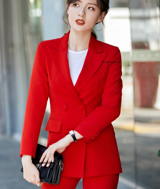 Long ladies blazer with buttons Women Solid Jacket of high quality Fashion Outwear