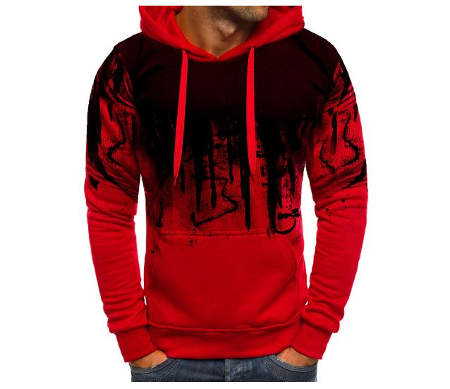 New Fashion Sweatshirt Male Camo Hooded Hip Autumn Winter Military Hoodie