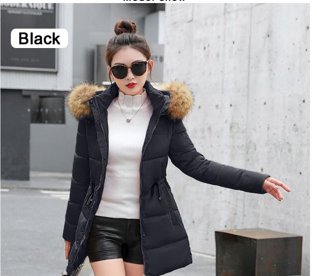 Winter jacket women thick snow wear winter coat lady women
