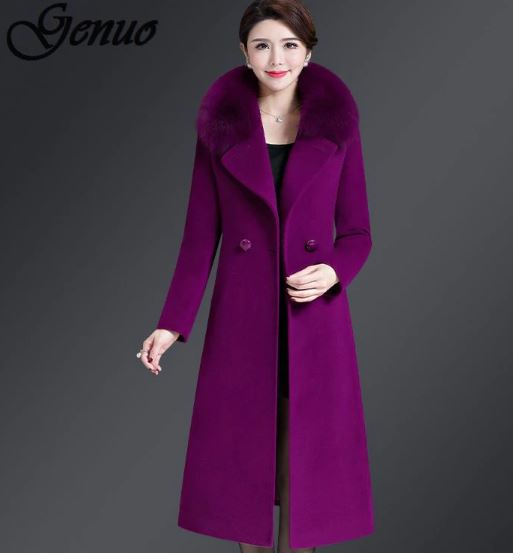 Slim large size coat high quality streetwear korean style coat 4xl