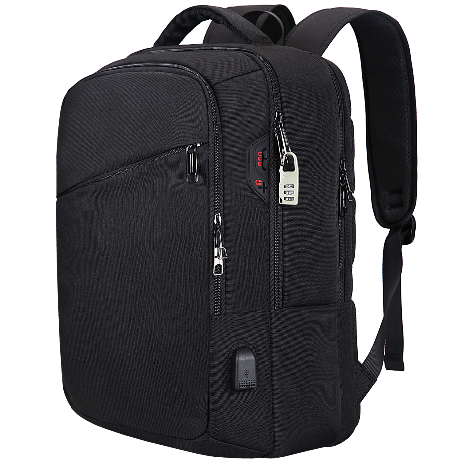 New Design Trending USB Charging Laptop Backpack Bags for Men Women Anti Theft School Bags