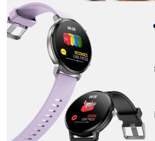 Smart watch, waterproof, tempered glass, fitness tracker, heart rate monitor, men's watches