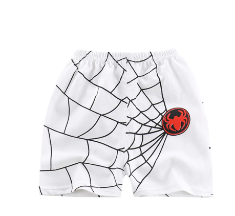 Summer Cotton cartoon mickey boy Shorts kids shorts for girls spiderman Beach Shorts
