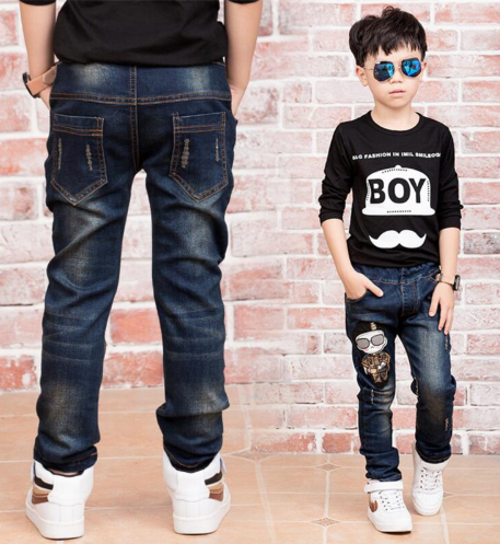 Children Denim Pants Big Boys Slim Jeans Boys Jeans Raramart Online Shopping In Japan Raramart Japan