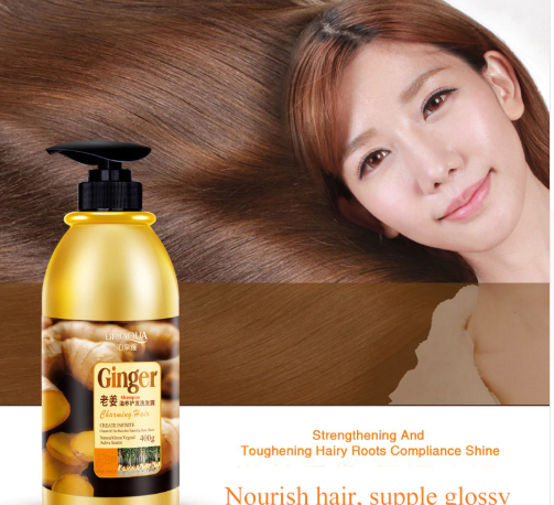 Herbal Ginger Hair Shampoo No Silicone Oil Oil Control Anti Dandruff Shampoo