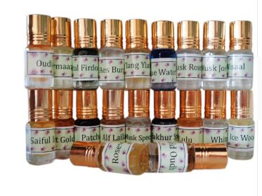 Traditional of India Attar 6 ml Concentrated Perfume Oil, buy 2 Get 1 Free